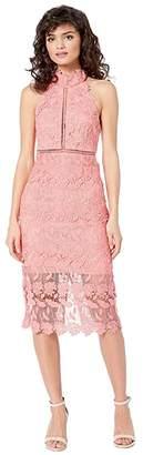 Bardot Noni Halter Dress (Brit Melon) Women's Dress