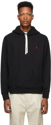 Polo Ralph Lauren Black Fleece Hoodie
