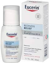 Eucerin Redness Relief Day Lotion Broad Spectrum SPF 15 1.7 Fluid Ounce