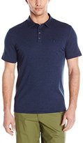 Vince Camuto Men's Heathered Crest Polo