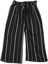 Tie Front Cropped Pants (Petite)