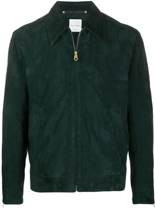 Paul Smith Zipped Suede Jacket