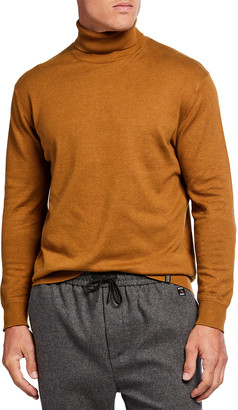 Scotch & Soda Men's Classic Turtleneck Sweater