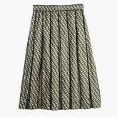J.Crew Collection lace panel skirt in Ratti® geometric tile print