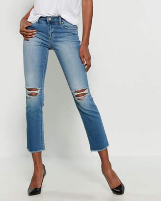 Jessica Simpson Beech Arrow Straight Ankle Jeans