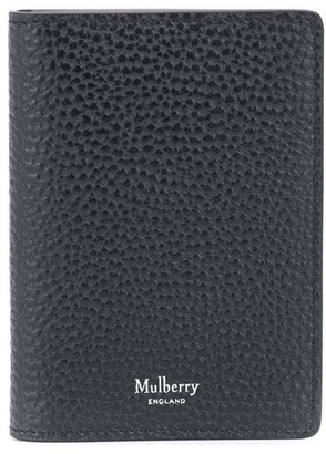Mulberry Grained-Effect Leather Cardholder