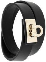 Salvatore Ferragamo front clasp bracelet