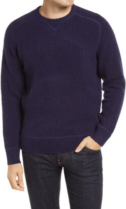 Peter Millar Merino Wool Blend Raglan Sweater