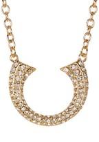Rebecca Minkoff Double Tusk Pendant Necklace