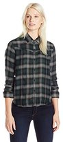 Joe's Jeans Women's Vivi Woven Plaid Shirt