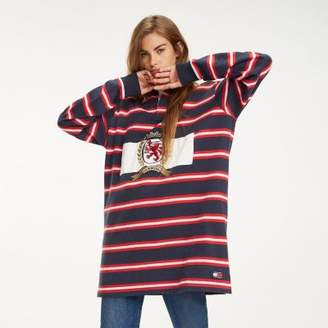 Tommy Hilfiger Multi-Colour Stripe Rugby Dress