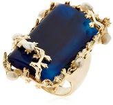 Rosantica Amuleto Blue Agate Ring
