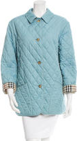 Burberry Light Weight Quilted Coat