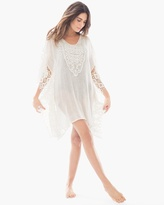 Chico's Open Knit Lace Cover up