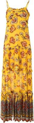 Alexis Lussa tiered cotton dress