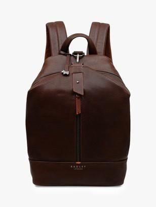 Radley Chiswick Large Zip Around Backpack, Tan