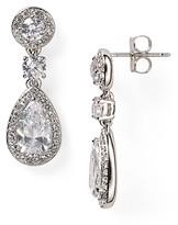 Nadri Framed Drop Earrings