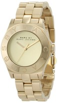 Marc by Marc Jacobs MBM3126 Blade Gold-Tone Stainless Steel Womens Watch