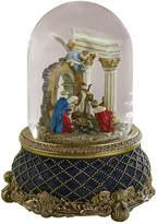 Asstd National Brand Roman Nativity with Stonewall Snow Globe