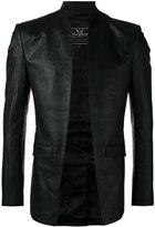 Unconditional cut away jacket - men - Silk/Cotton - S