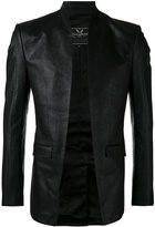 Unconditional cut away jacket - men - Silk/Cotton - XS