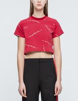 Joyrich Script Repeat Cropped T-Shirt