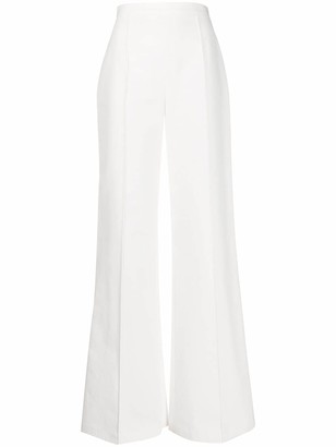 Elisabetta Franchi High Waist Piped Seam Trousers
