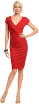 Alberta Ferretti Red Rimini Dress