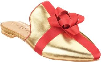 Katy Perry Holiday Bow Mules - The Stephanie
