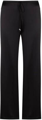 La Perla Drawstring-Waist Silk Pyjama Trousers