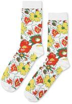 Stella McCartney white foolish flowers socks