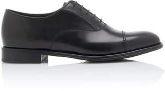 Prada Cordovan Leather Dress Shoes
