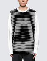 3.1 Phillip Lim Re-Constructed L/S Shirt