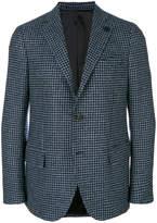 Lardini checked blazer