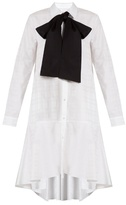 Osman Perfect 5 Amelia cotton-jacquard shirtdress