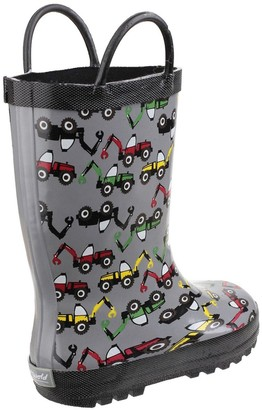 Cotswold Boys Digger Wellington Boots