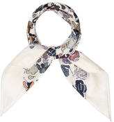 Hermes 70cm Cotton Scarf w/ Tags