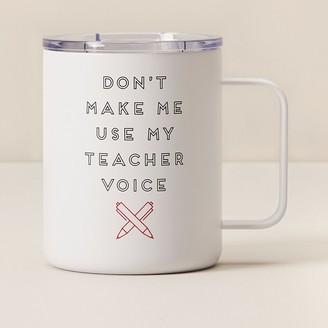 Indigo Teacher Voice Travel Mug