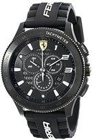Ferrari Men's 830242 Scuderia XX Black Watch with Silicone Strap