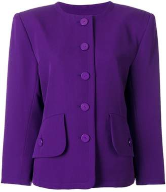 Saint Laurent Pre-Owned single breasted jacket