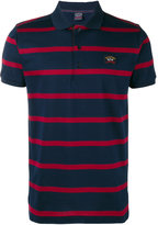 Paul & Shark striped polo shirt - men - Cotton - L