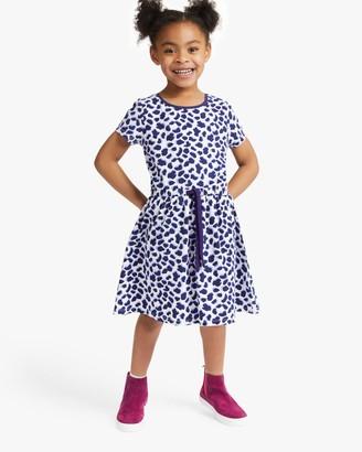 John Lewis & Partners Girls' Giraffe Print Dress