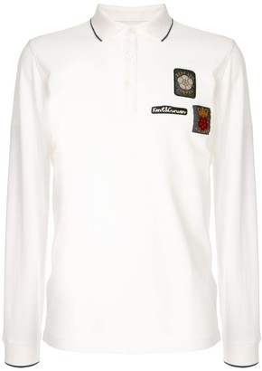 Kent & Curwen Embroidered Patch Polo Shirt