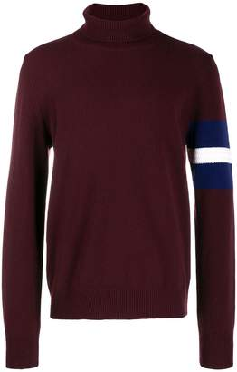 Maison Margiela knitted turtleneck jumper