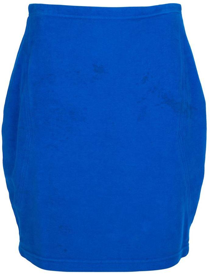 Versace Vintage denim skirt