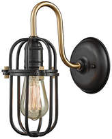 One Kings Lane Cormio Sconce - Bronze/Brass