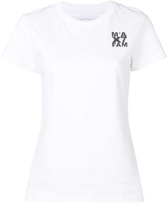 Marques Almeida 7 For All Mankind x logo print T-shirt