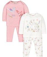Mothercare Girl's Little Garden Pyjama Sets,(Manufacturer Size: 068)