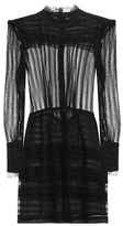 Isabel Marant Ramses Ruffled Silk And Linen Dress