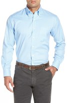Peter Millar Men's 'Nanoluxe' Regular Fit Wrinkle Resistant Twill Check Sport Shirt